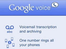 フォトレポート:iPhone用「Google Voice」