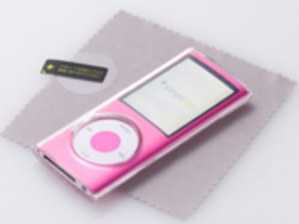 トリニティからスタンド付きiPod nanoケース「Simplism Crystal Case for iPod nano」