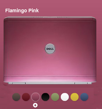 Dell Inspiron Pink Color