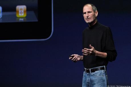 フォトレポート:休養中のジョブズ氏、iPad 2発表で登壇--「今日は休んでいたくなかった」