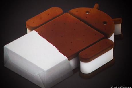 GoogleのAndroid Ice Cream Sandwich公式ロゴ.