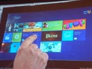フォトレポート:「Windows 8」のデモを写真で紹介