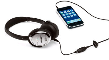 「QuietComfort3 with mobile communications kit」
