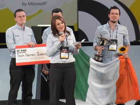 アイルランドのチーム「Team Hermes」