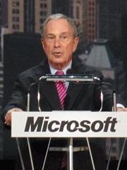 ニューヨーク市長のMichael Bloomberg氏
