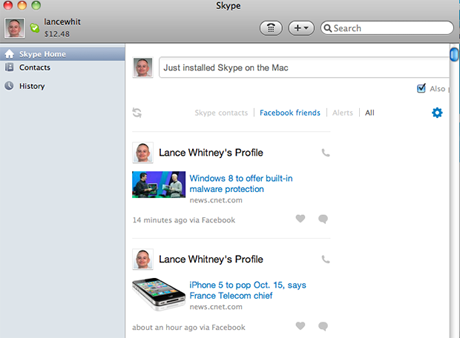 Skype for Mac 5.4 Beta
