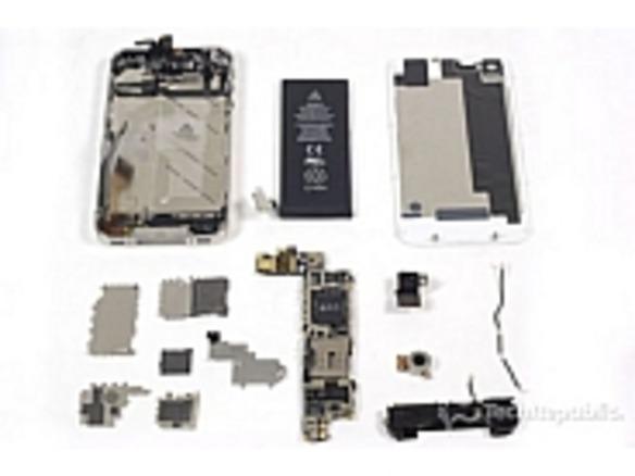 フォトレポート:分解、「iPhone 4S」--「iPhone 4」との内部の違いは ...
