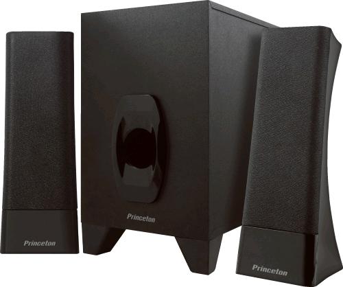 プリンストン、USB給電できる2.1chスピーカシステム - CNET Japan