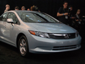 ホンダ「Civic Natural Gas」、2012 Green Car of the Yearを受賞
