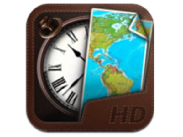 18a714732d 世界各地の時間をビジュアルで表示--時計iPhoneアプリ「世界時計」 - CNET Japan