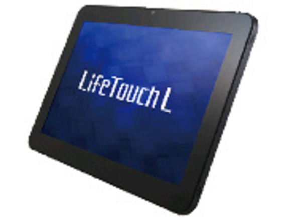 NEC、Android搭載タブレット「LifeTouch L」に新色追加--SkyDriveとの連携機能も