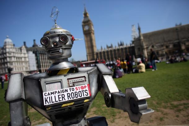「Campaign to Stop Killer Robots」がロンドンで現地時間4月23日に始まった。
