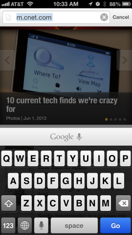 提供:Screenshot by Josh Lowensohn/CNET
