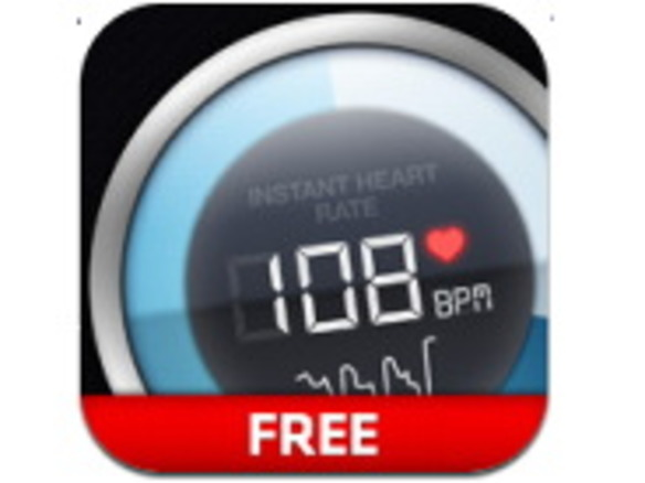 iPhoneで正確に脈を測って記録できる「Instant Heart Rate」
