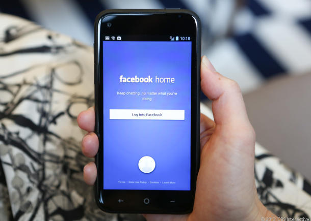 Facebook Home搭載のHTC First
