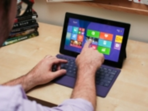 「Surface Pro 2」の第一印象--「Haswell」搭載でバッテリ持続時間改善に期待
