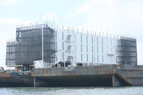 グーグルの洋上建造物、「Google X」プロジェクトの招待制ショールーム ...