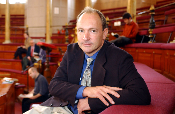 World Wide Webの考案者Tim Berners-Lee氏