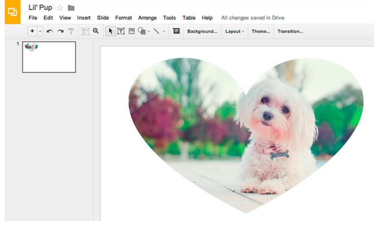 グーグル slides と drawings で画像編集を可能に クリエイティブ