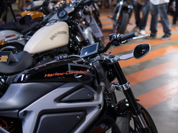 画像: ハーレーダビッドソン初の電動バイク--写真で見る「Project LiveWire」 - CNET Japan