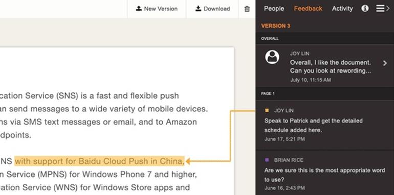 提供:Amazon Web Services