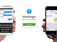 画像: Facebook、スタンドアロンの「Messenger」アプリが不評--App Annie調査 - CNET Japan