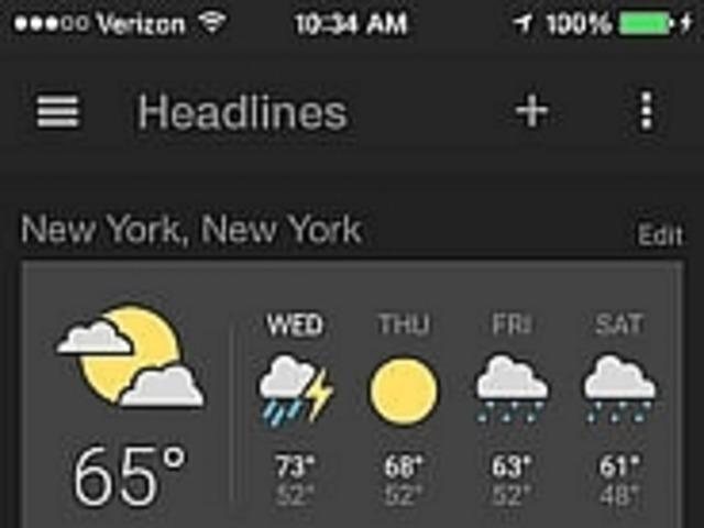 グーグル news weather アプリ ios版がリリース cnet japan