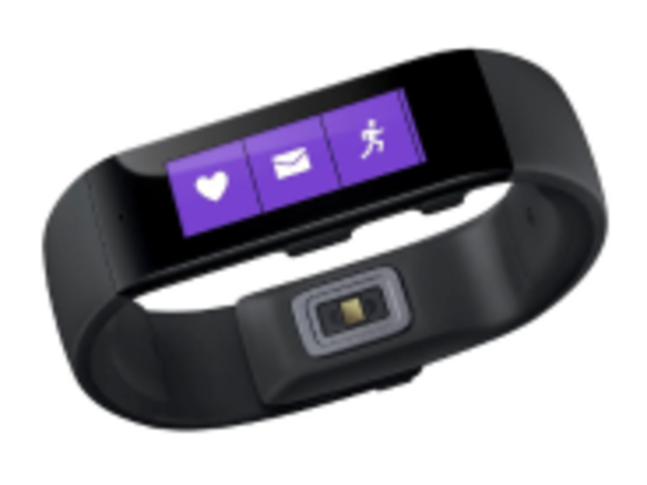 MS、フィットネス端末「Microsoft Band」を発表--「Android」「iPhone」にも対応