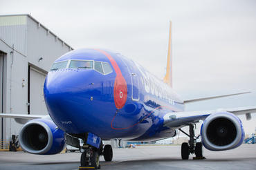 Southwest AirlinesのBeats Music仕様Boeing 737