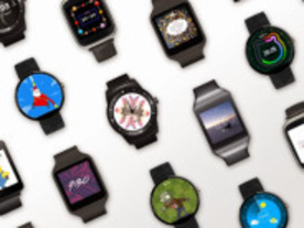 「Android Wear」向けに新しい文字盤が登場--「Google Play」からダウンロード可能に