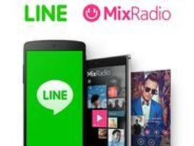 LINE、マイクロソフトから音楽配信「MixRadio」を買収