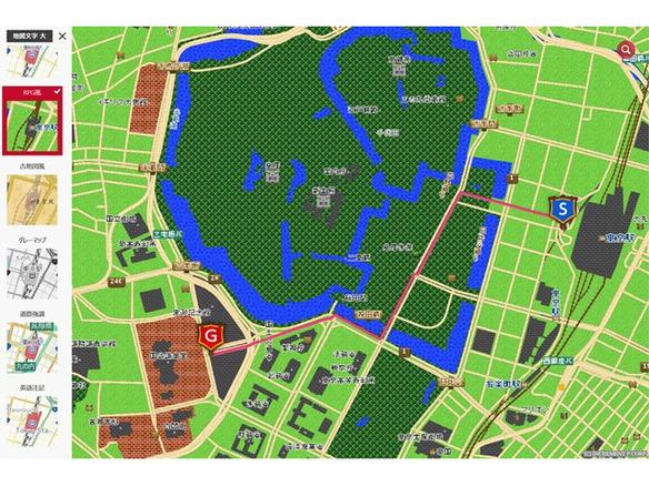 地図 アプリ 森 あつ