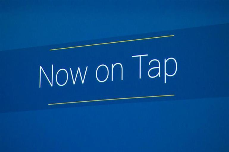 Now on TapはGoogle Nowを新しい次元に押し上げる機能だ。