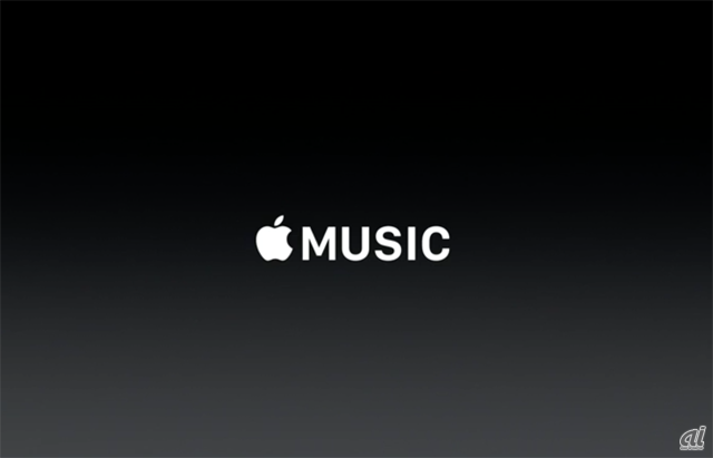 Apple Musicのロゴ