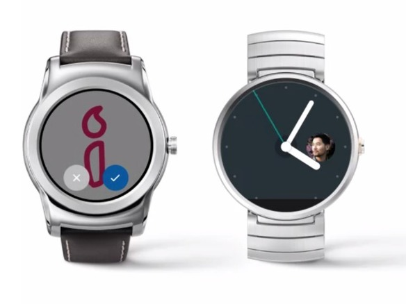 「Android Wear」、文字盤がより対話型に--グーグル、ソフトウェアアップデートを提供へ