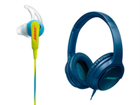 ボーズ、「SoundSport」と「SoundTrue around-ear headphones」が新色&新デザインに