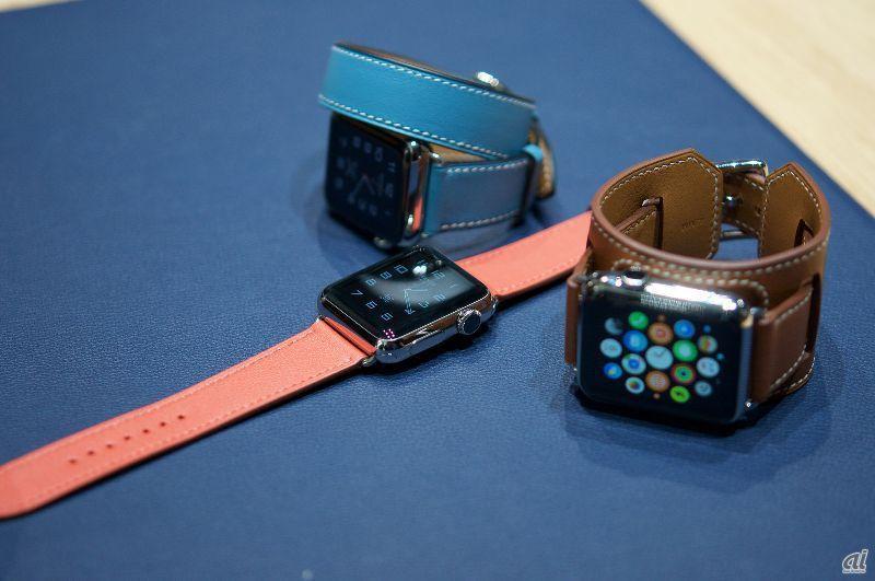 best service f1010 64d7b Apple Watch Hermes」は何が違う?--エルメスらしい3スタイルの ...