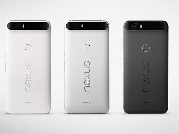 「Nexus 6P」を「iPhone 6s」「Galaxy S6」「Xperia Z5 Premium」と比較