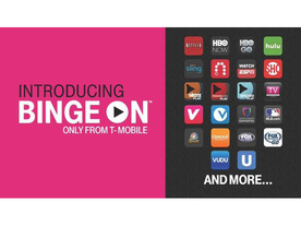 T-Mobile、契約者向け無料動画サービス「Binge On」を発表--データプランの容量も2倍に