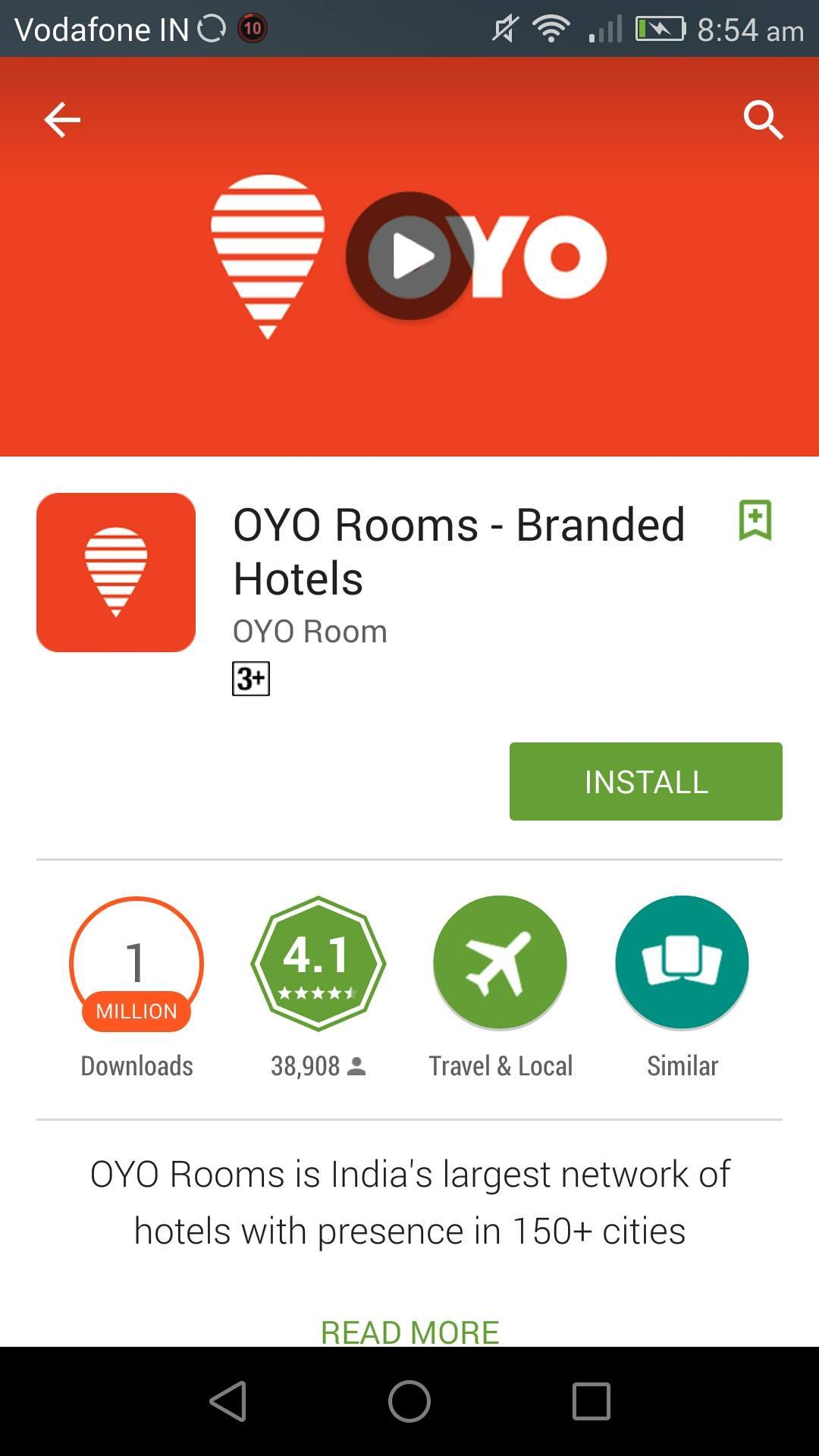 「OYO Rooms(オヨ ルームズ)」