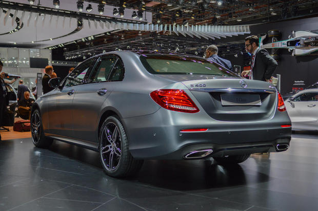 Mercedes-BenzのE-Class 2017年モデル。