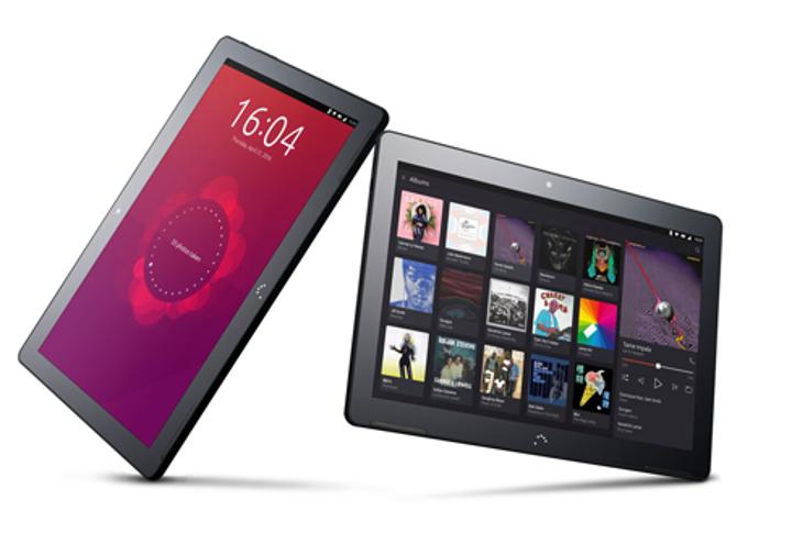 初のUbuntu Linux搭載タブレットのAquaris M10 Ubuntu Edition