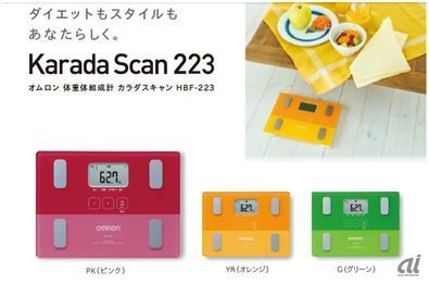 (http://www.healthcare.omron.co.jp/support/download/catalog/pdf/HBF-223_224_cat.pdf)