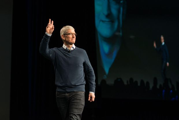 AppleのCEO、Tim Cook氏