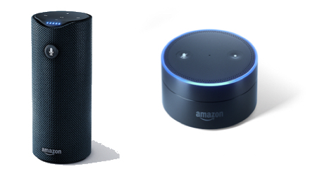Amazon TapとEcho Dot