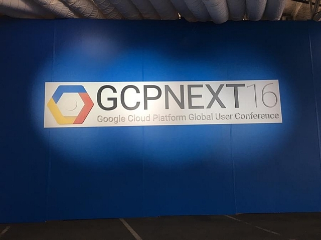 Google Cloud Platform NEXT 2016
