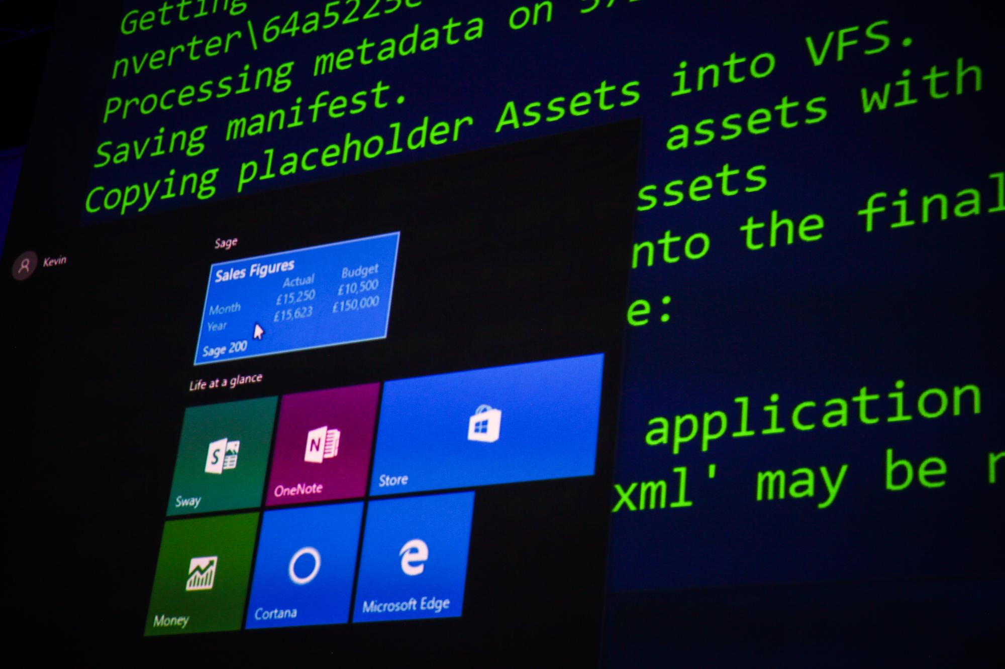 msが build 2016 で示した変化 windows 10 での bash サポートが