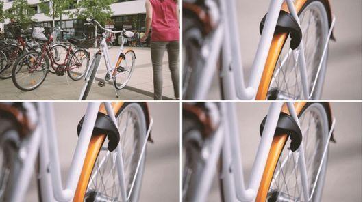 自転車から離れると自動的に施錠・Kickstarter・スマホで自転車の鍵を開ける。鍵・ディンプルキー・スペアキー・合鍵は新カギが自宅に届く俺の合鍵へ。