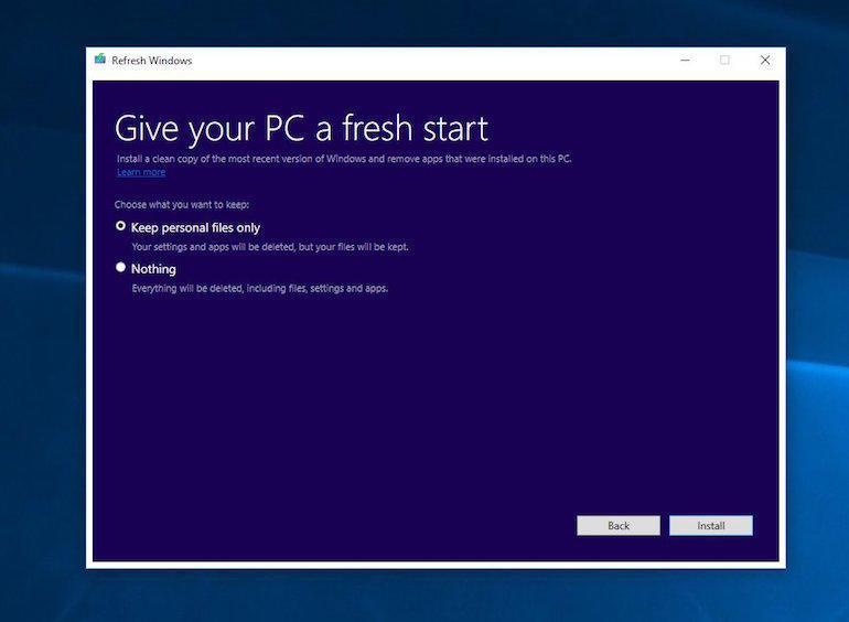 ms ブロートウェア削除ツールを windows 10 テストビルドに搭載