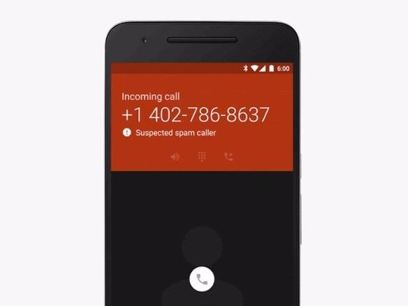 迷惑電話は去るがいい」--グーグル、「Nexus」などで警告表示を可能に ...